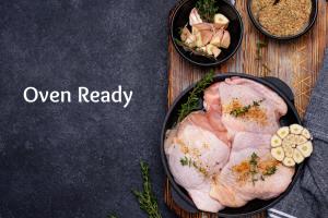 Pre-prepared / Oven Ready