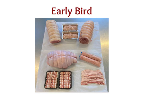 Early Bird Large Pork Christmas Hamper (Delivered by 26th Nov 2021)