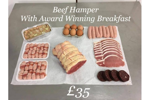 Beef Hamper with Our Award Winning Breakfast