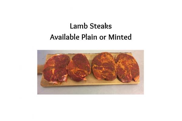 4 x  Lamb Steaks
