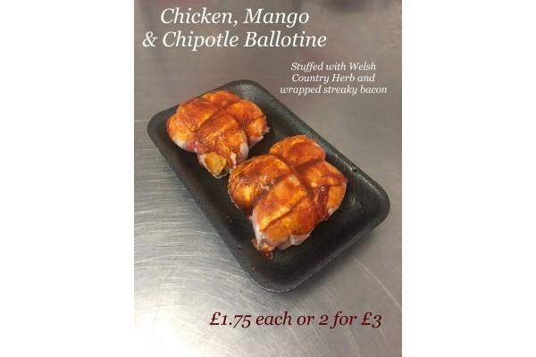 Chicken, Mango & Chipotle Ballotine (single)