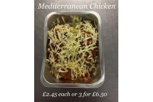 3 x Mediterranean Chicken Breasts