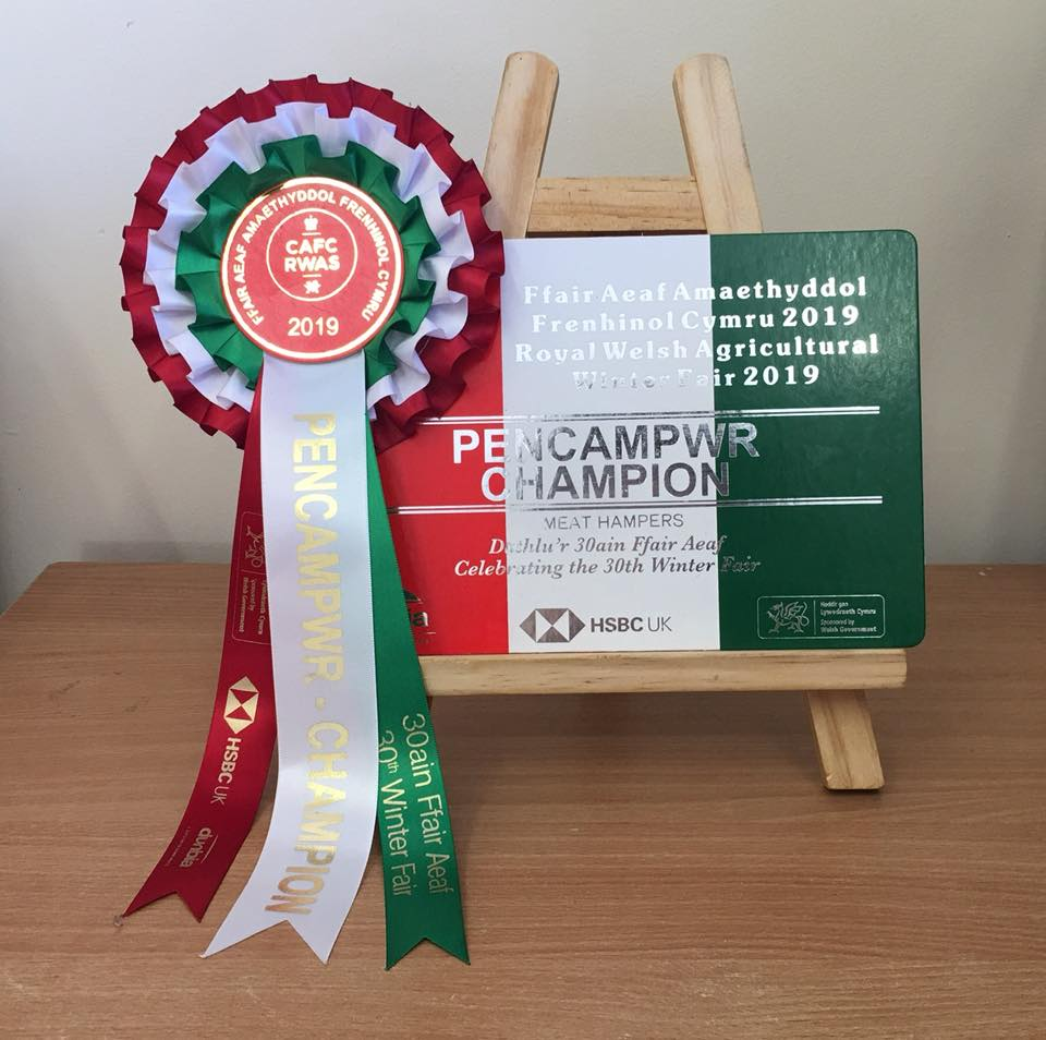 Supreme Champion of Meat Hampers Again!