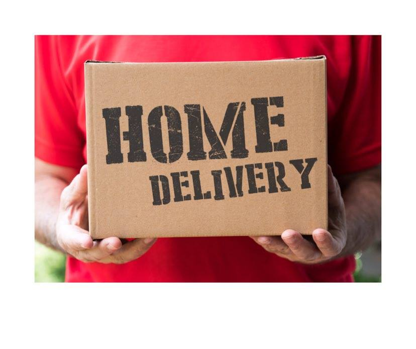 Home Delivery Service UPDATED 4th Januay 2021